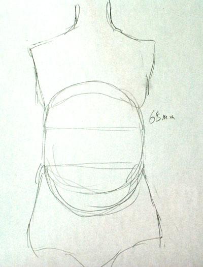 画素描球体的图片步骤